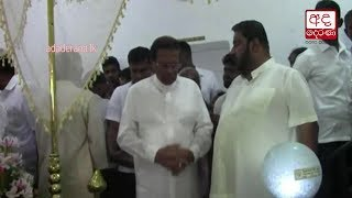 President pays final respects to police officers killed in Batticaloa