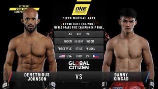Demetrious Johnson vs. Danny Kingad - Full Fight Replay